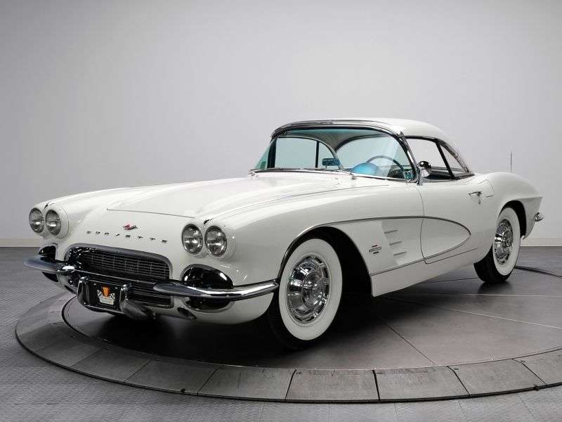 Chevrolet Corvette C1 [3rd restyling] roadster 4.6 Powerglide (1960–1962)