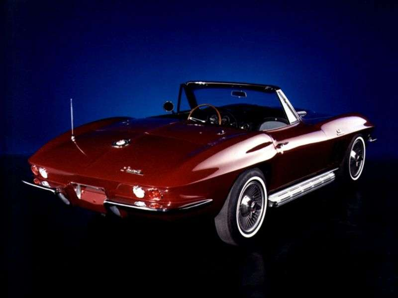 Chevrolet Corvette C2 [3rd restyling] Sting Ray roadster 5.4 3Syncro Mesh (1966–1966)