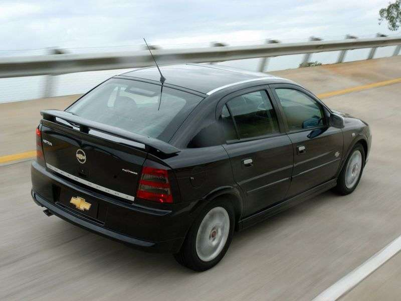 Chevrolet Astra 2nd generation [restyling] SS hatchback 2.0 Flexfuel MT (2006–2009)