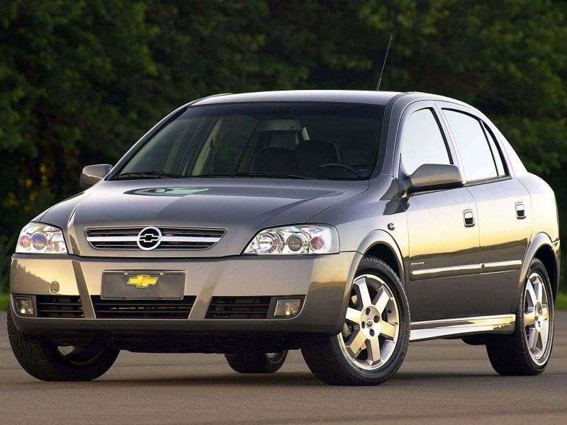 Chevrolet Astra 2nd generation [restyling] 2.0 sedan Flexpower MT (2009–2011)