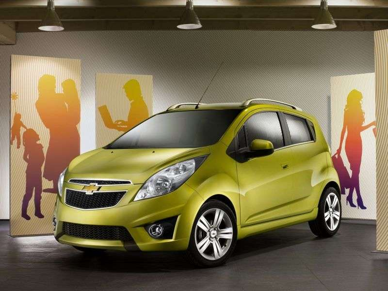 Chevrolet Spark M300hetchbek 1.2 MT Base (2013) (2010 – present)