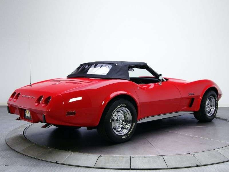 Chevrolet Corvette C3 [2nd restyling] Sting Ray roadster 5.7 4MT (1974–1975)