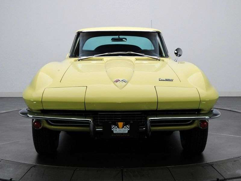 Chevrolet Corvette C2 [3rd restyling] Sting Ray Coupe 5.4 3Syncro Mesh (1966–1966)