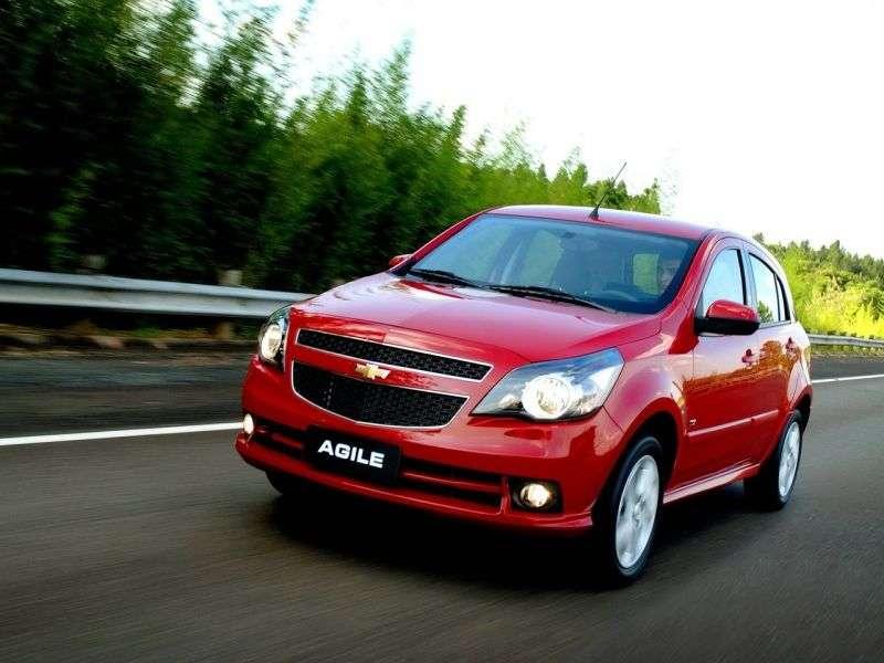 Chevrolet Agile 1st generation hatchback 1.4 Flex MT (2009 – n.)