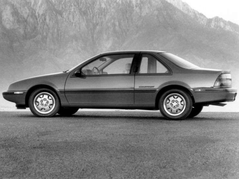Chevrolet Beretta 1st generation coupe 2.0 MT (1988–1996)