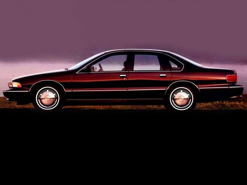 Chevrolet Caprice 4th generation [restyling] sedan 5.7 AT (1994–1996)