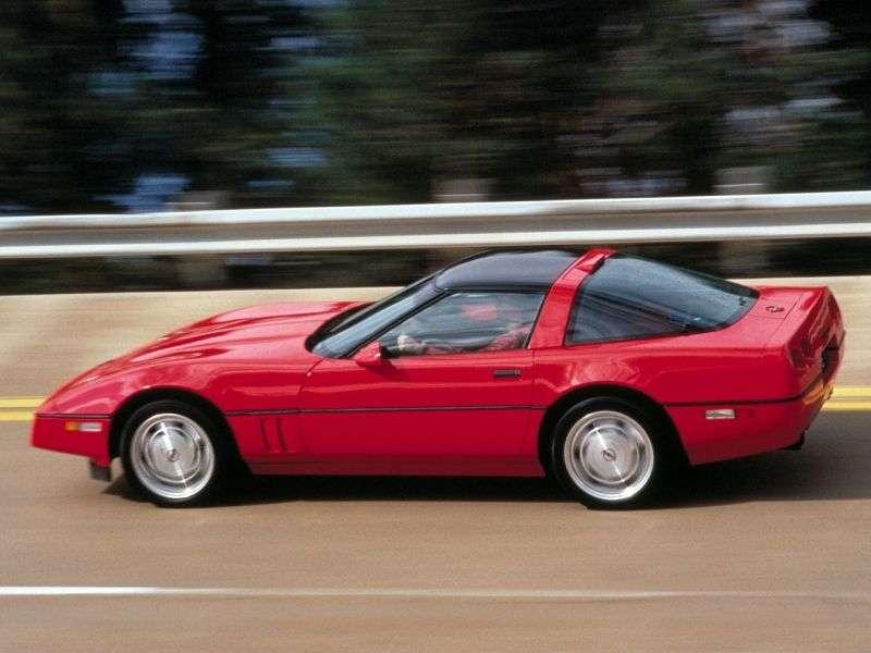 Chevrolet Corvette C4 [restyling] ZR1 targa 5.7 MT (1988–1990)