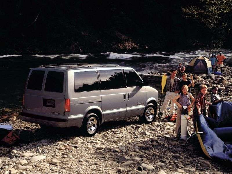 Chevrolet Astro 2nd generation Minibus 4.3 AT 8 seat (1996–2003)