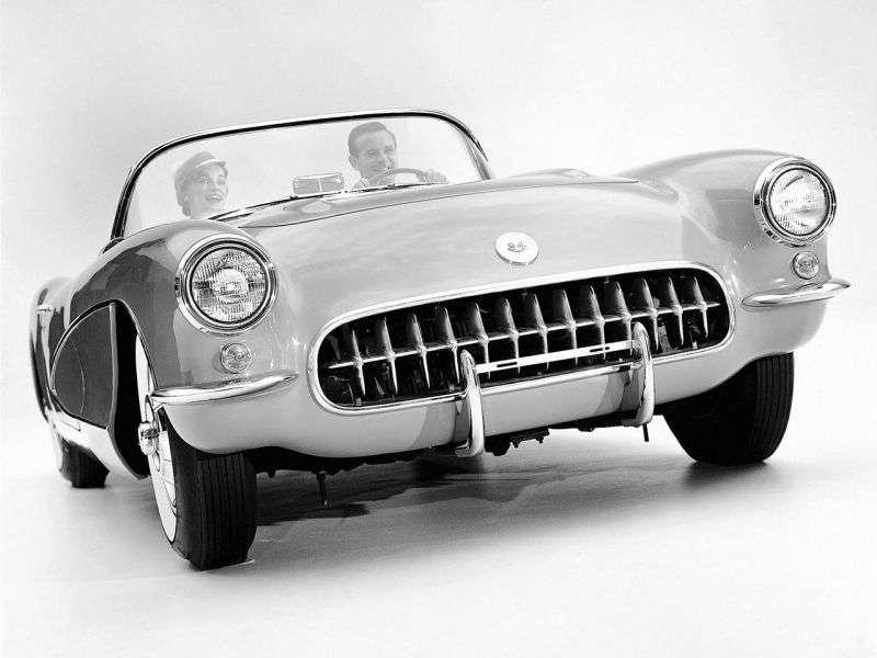 Chevrolet Corvette C1 [restyling] roadster 4.6 Syncro Mesh (1956–1957)