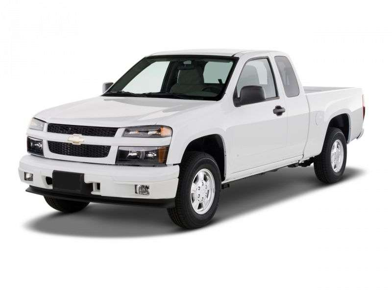 Chevrolet Colorado 1st generation Extended Cab pickup 2 bit. 2.9 MT (2007–2013)