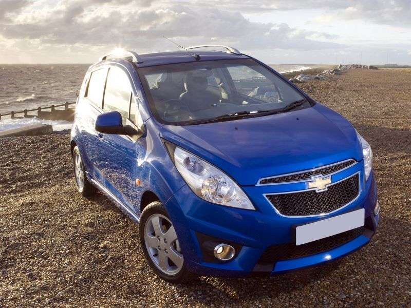 Chevrolet Beat 1st generation 1.2 MT hatchback (2011 – n.)