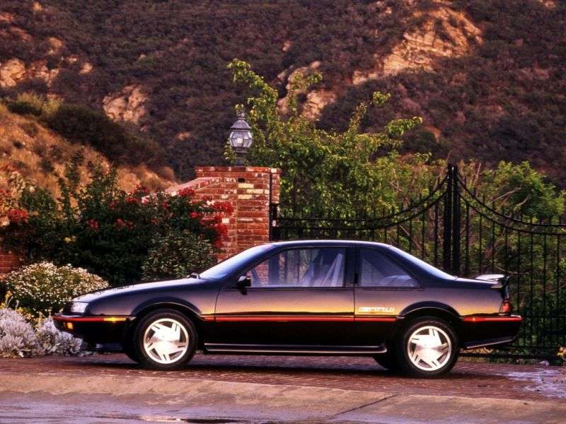 Chevrolet Beretta 1st generation coupe 2.2 AT (1990–1996)