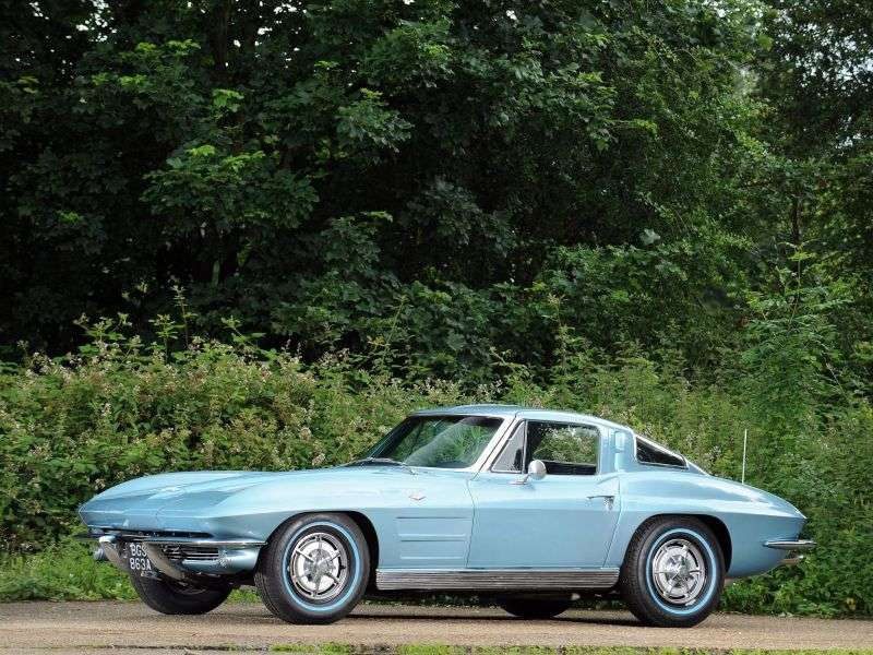 Chevrolet Corvette C2Sting Ray Coupe 2 bit. 5.4 3Syncro Mesh (1963–1963)