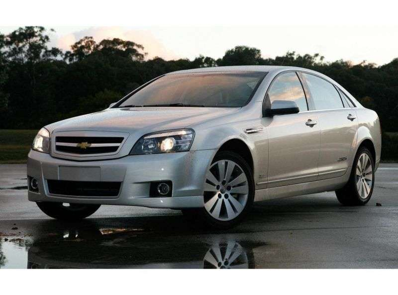 Chevrolet Caprice 6th generation 6.0 sedan AT (2006 – n. In.)