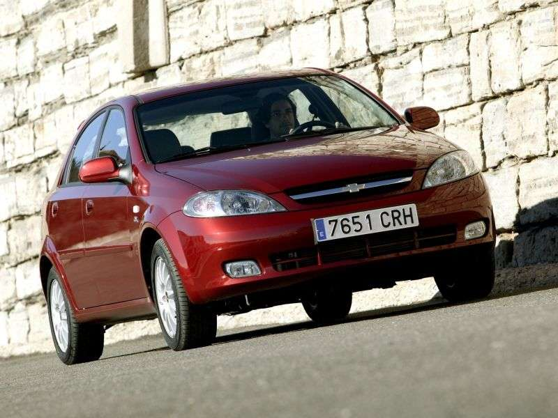 Chevrolet Lacetti 1st generation 1.4 MT SX hatchback (1XL48GP53) (2004–2013)