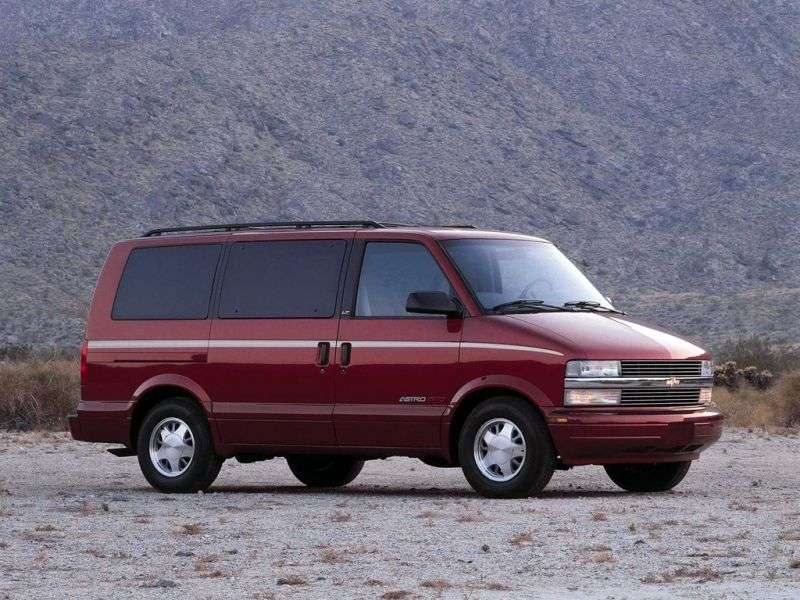 Chevrolet Astro 2nd generation Minibus 4.3 AT (1996–1997)