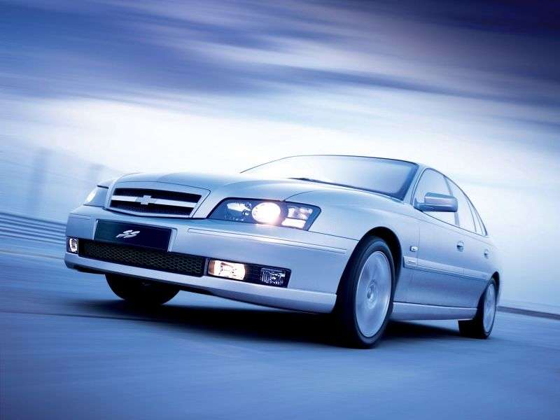 Chevrolet Caprice 5th generation [restyling] sedan 5.7 AT (2004–2006)