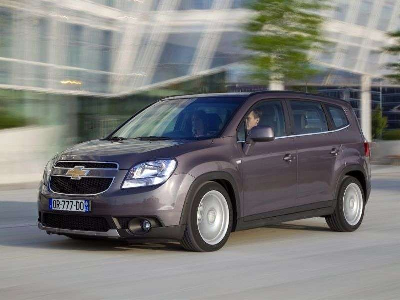 Chevrolet Orlando 1st generation minivan 1.8 AT LS Plus (2012) (2010 – n.)
