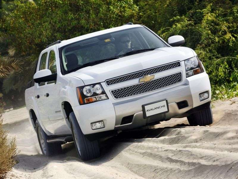Chevrolet Avalanche 2nd generation pickup 5.3 FlexFuel 4AT 4WD (2007–2008)