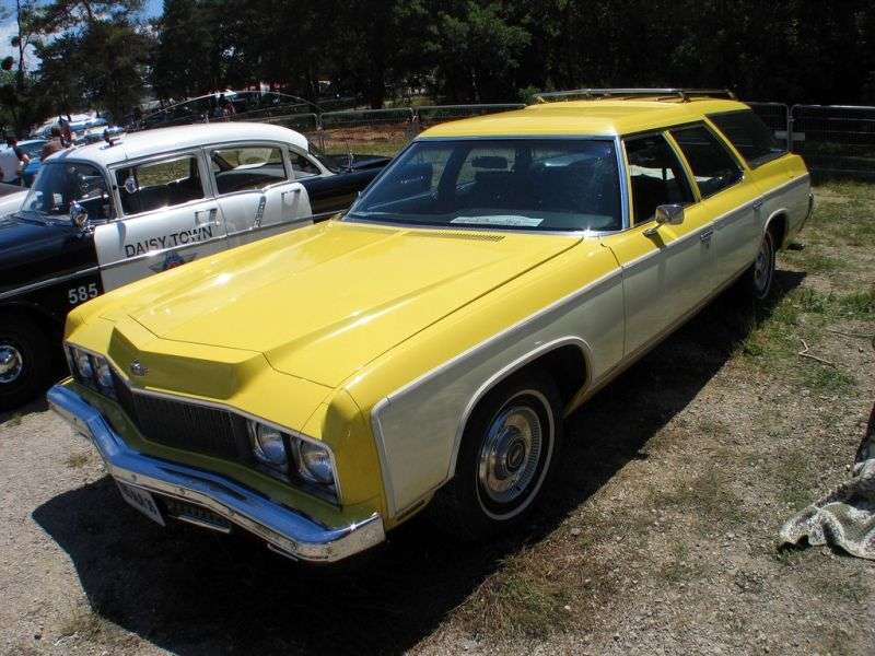 Chevrolet Caprice 2nd generation [2nd restyling] Kingswood Estate Wagon 7.44 Turbo Hydra Matic 3 seat (1973–1973)