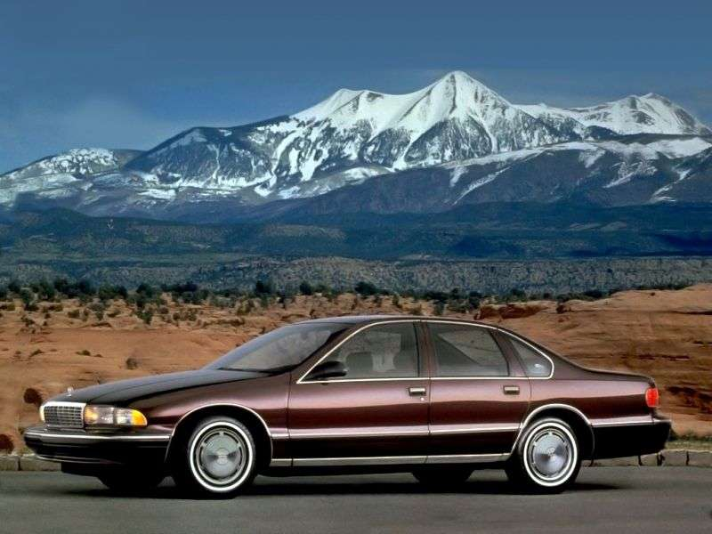 Chevrolet Caprice 4th generation [restyling] 4.3 sedan AT (1994–1996)
