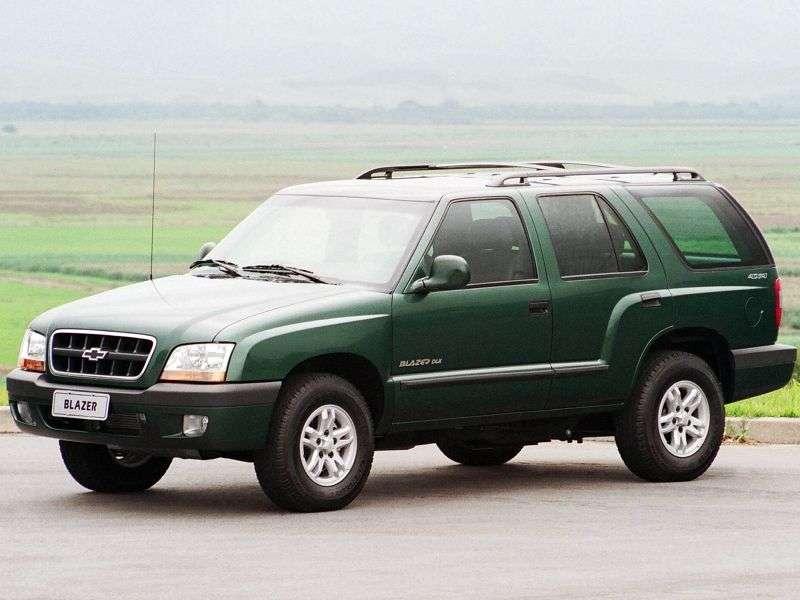 Chevrolet Blazer 5 generation BR spec SUV 2.4 FlexFuel MT (2007–2008)