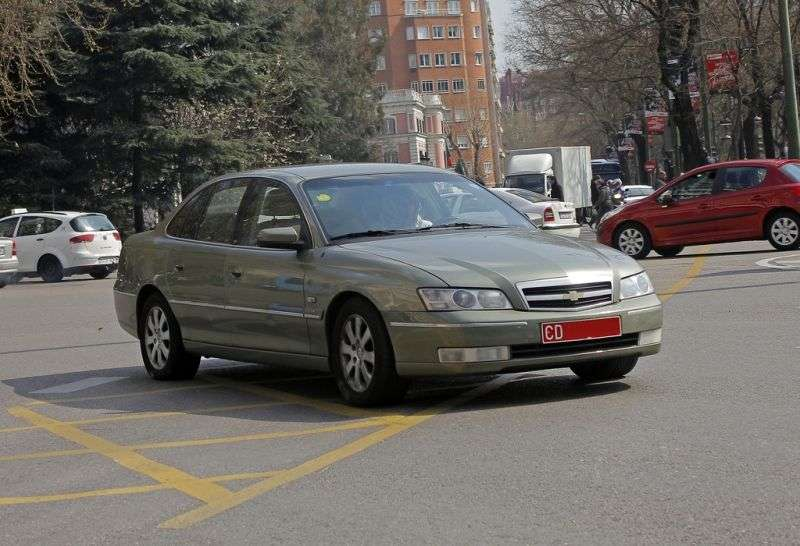 Chevrolet Caprice 5th generation [restyling] sedan 3.8 AT (2004–2006)