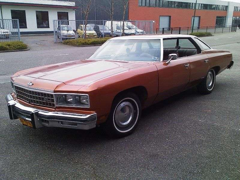 Chevrolet Caprice 2nd generation [5th restyling] Sport Sedan hardtop 7.44 Turbo Hydra Matic (1976–1976)