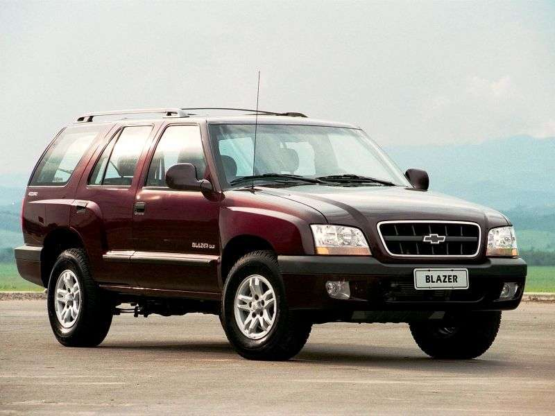Chevrolet Blazer 5 generation BR spec SUV 2.4 FlexFuel MT (2007–2008)