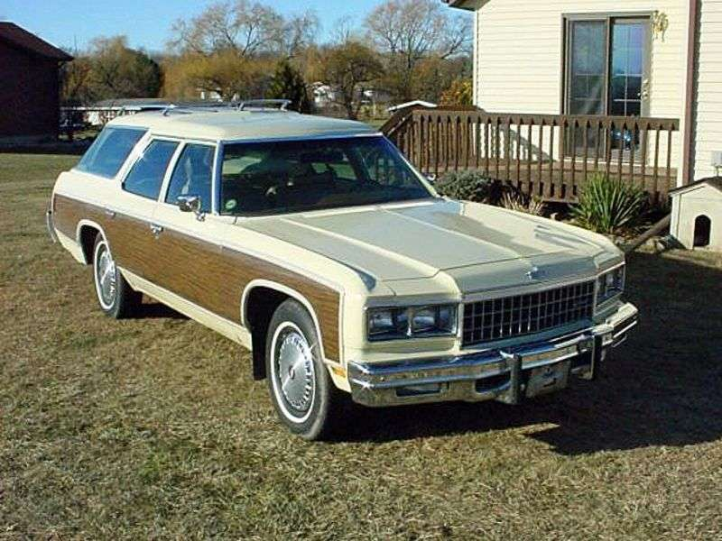 Chevrolet Caprice 2nd generation [5th restyling] Kingswood Estate 6.6 Turbo Hydra Matic 2 seat station wagon (1976–1976)