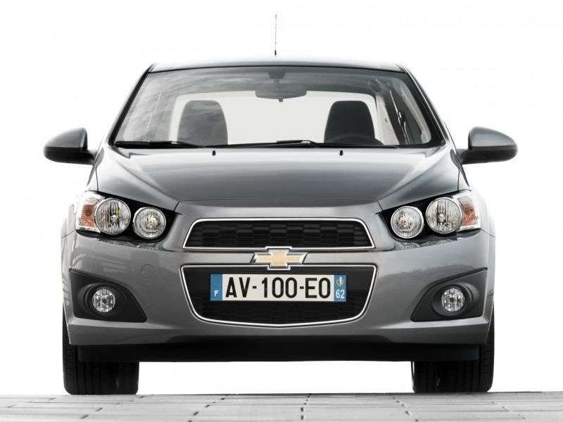 Chevrolet Aveo T300edan 1.6 MT LT Base (2013) (2012 – n.)