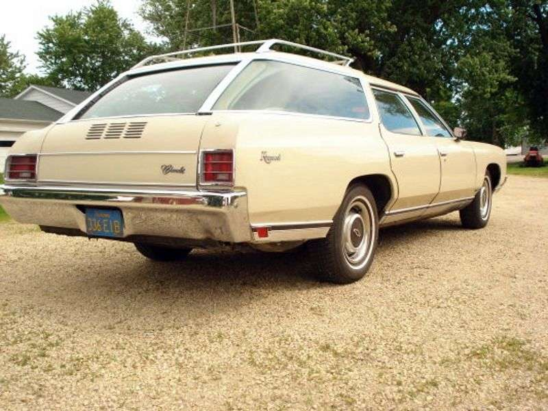 Chevrolet Caprice 2nd generation Kingswood Estate 6.6 MT 2 seat station wagon (1971–1971)