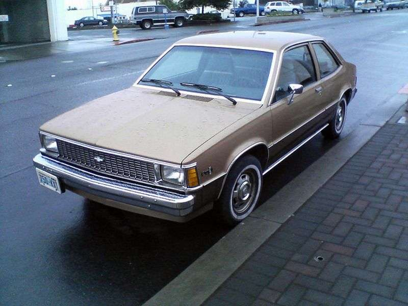 Chevrolet Citation 1st generation coupe 2.8 X11 MT (1980–1980)