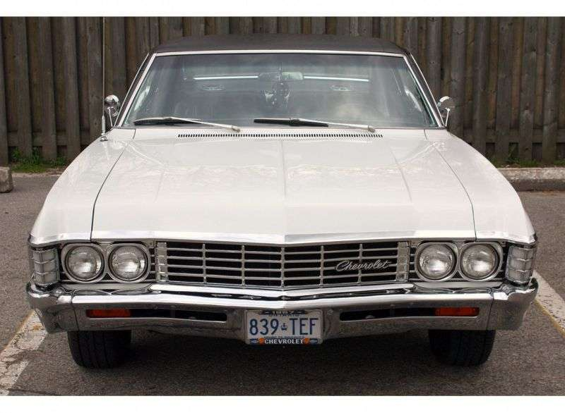 Chevrolet Caprice 1st generation [2nd restyling] Sport Coupe hardtop 2 bit. 4.6 3MT (1967–1967)