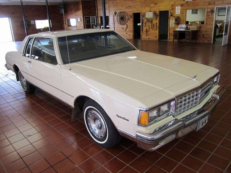 Chevrolet Caprice 3rd generation [restyling] coupe 5.7 D 4АТ (1982–1985)