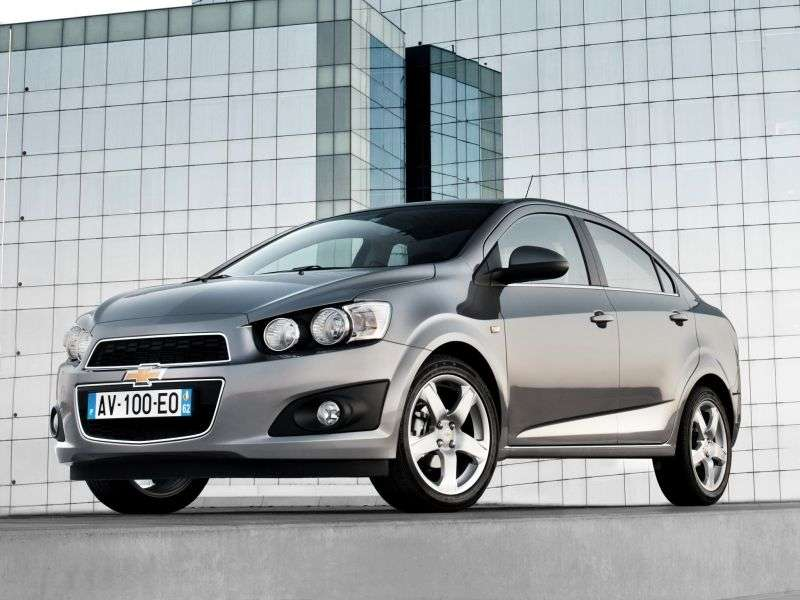 Chevrolet Aveo T300edan 1.6 AT LT (1GY69IO6B) (2012 – current century)
