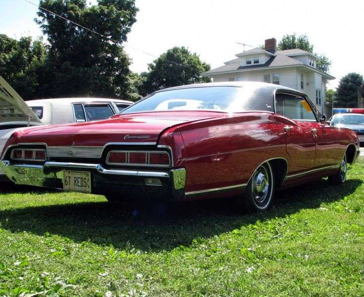 Chevrolet Caprice 1st generation [2nd restyling] Sport Sedan 4 bit hardtop. 5.4 Powerglide (1967–1967)