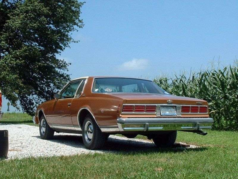 Chevrolet Caprice 3rd generation coupe 4.1 Turbo Hydra Matic (1977–1979)