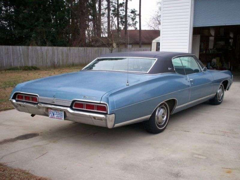 Chevrolet Caprice 1st generation [2nd restyling] Sport Coupe hardtop 2 bit. 7.0 3MT Heavy Duty (1967–1967)