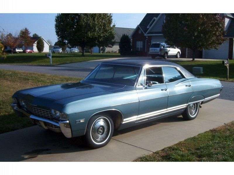 Chevrolet Caprice 1st generation [3rd restyling] Sport Sedan 4 bit hardtop. 6.5 Turbo Hydra Matic (1968–1968)