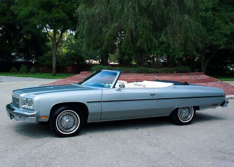 Chevrolet Caprice 2nd generation [4th restyling] Convertible convertible 7.44 Turbo Hydra Matic (1975–1975)