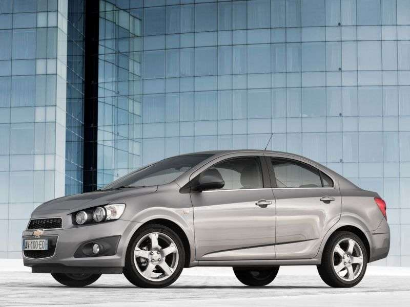 Chevrolet Aveo T300edan 1.6 MT LTZ (2012) (2012 – current century)