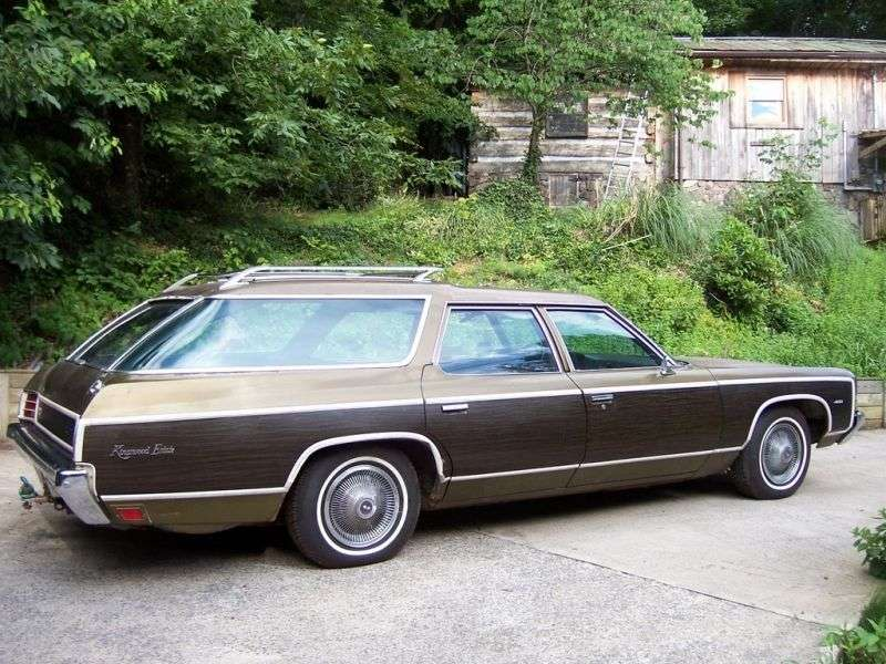 Chevrolet Caprice 2nd generation [restyling] Kingswood Estate 6.6 Turbo Hydra Matic 2 seat station wagon (1972–1972)