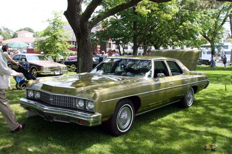 Chevrolet Caprice 2nd generation [2nd restyling] 7.44 Sedan Turbo Hydra Matic (1973–1973)