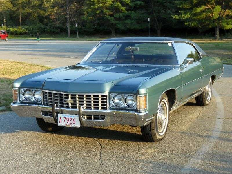 Chevrolet Caprice 2nd generation Custom Coupe hardtop 2 bit. 6.6 Turbo Hydra Matic (1971–1971)