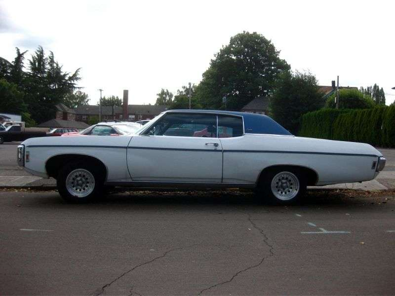Chevrolet Caprice 1st generation [4th restyling] Custom Coupe 2 hard drive hardtop. 5.7 Powerglide (1969–1969)