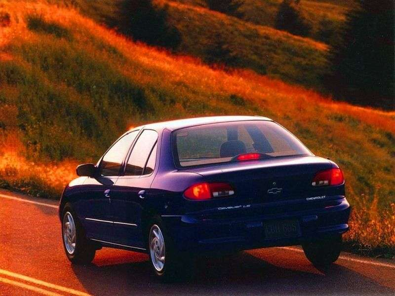 Chevrolet Cavalier 3rd generation sedan 2.2 MT (1997–1999)
