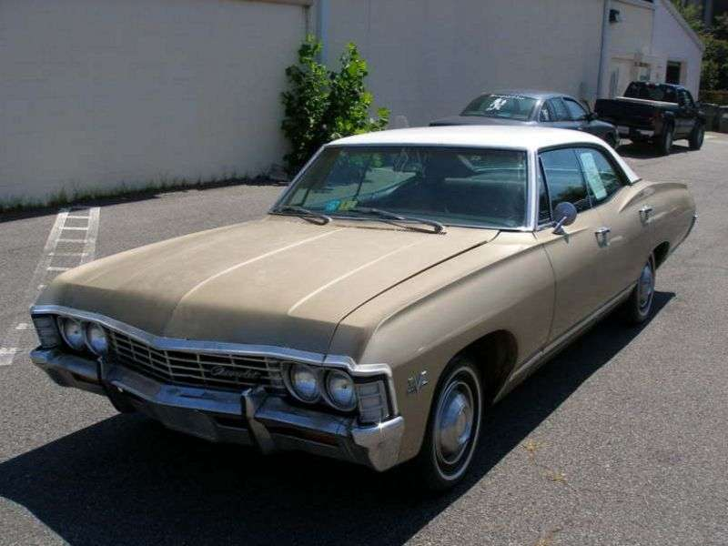 Chevrolet Caprice 1st generation [2nd restyling] Sport Sedan 4 bit hardtop. 4.6 4MT (1967–1967)