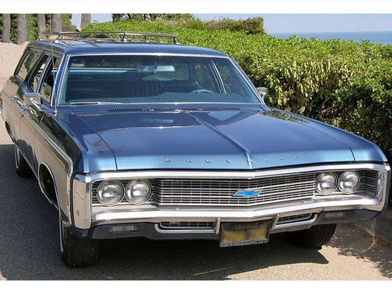 Chevrolet Caprice 1st generation [4th restyling] Kingswood Estate Wagon 5.7 Turbo Hydra Matic 3 seat (1969–1969)