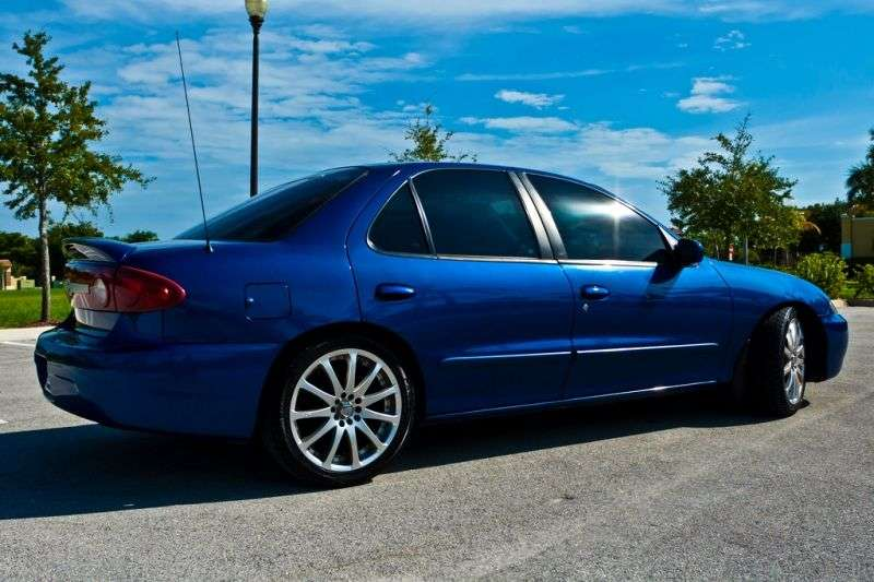 Chevrolet Cavalier 3rd generation [2nd restyling] 2.2 MT sedan (2002–2005)